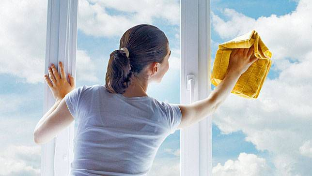 When is the best time to clean your windows?